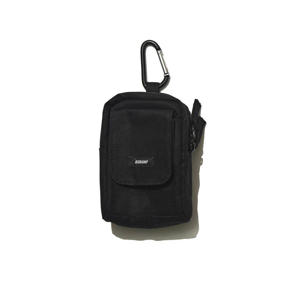 BSRABBIT UTILITY SMALL BAG BLACK
