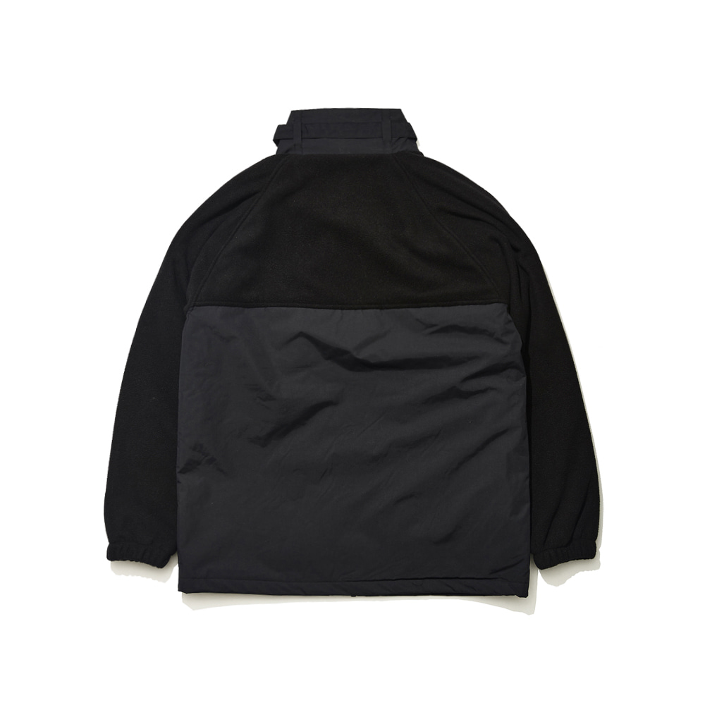 BSRABBIT SENSUAL FLEECE JACKET BLACK