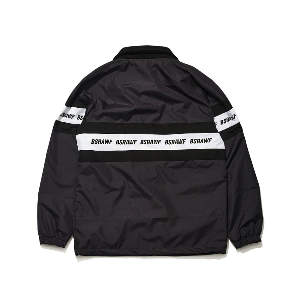BSRABBIT BSRAWF LINE COACH JACKET CHARCOAL