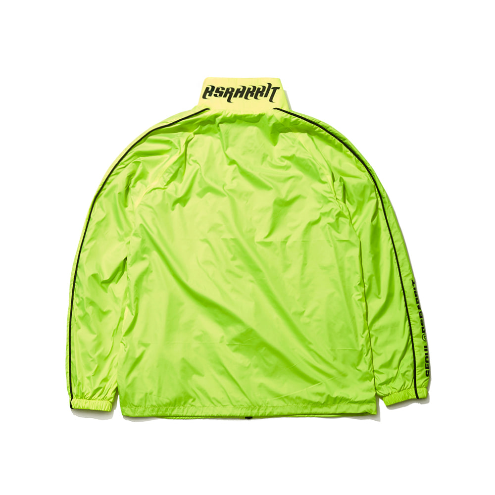 BSRABBIT BSR LIGHT TRACK JACKET FLUORESCENCE