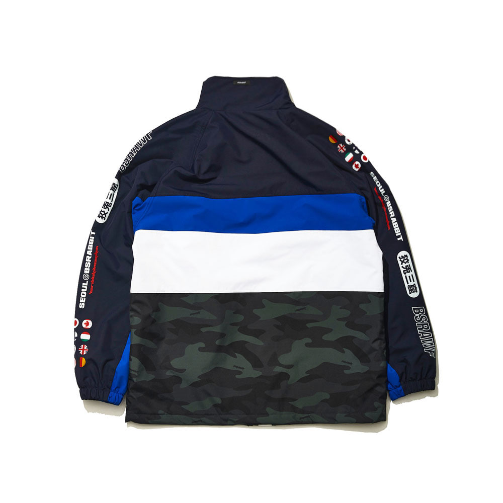 BSRABBIT COMPETITIVE JACKET BLUE