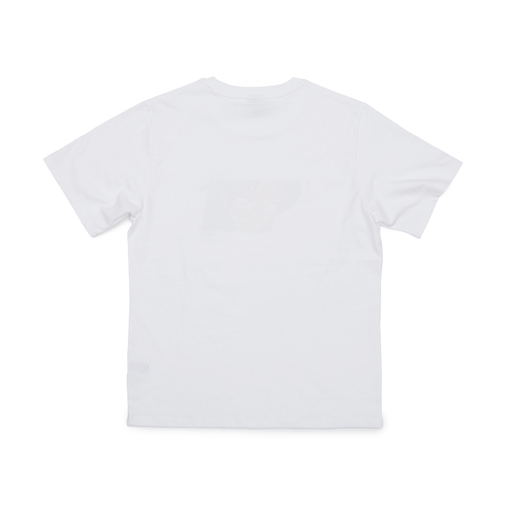 BSRABBIT WWRTR T-SHIRTS WHITE