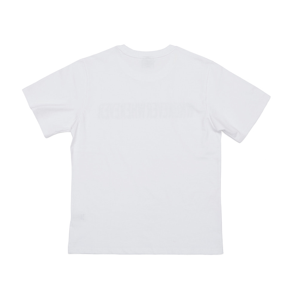 BSRABBIT WEWE BASIC T-SHIRTS WHITE