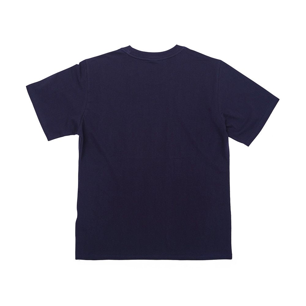 BSRABBIT WEWE RUN T-SHIRTS NAVY