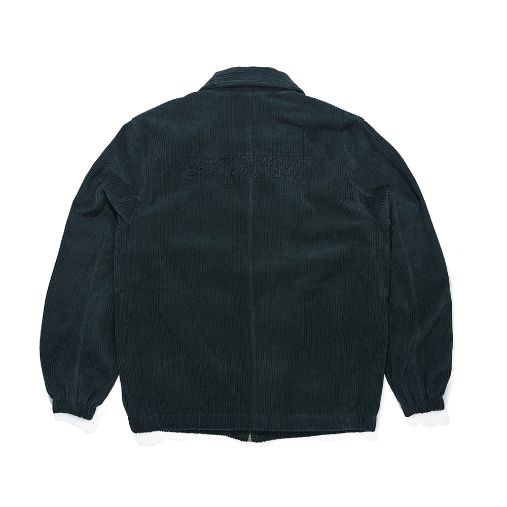 자체브랜드 CORDUROY COLLAR JACKET GREEN