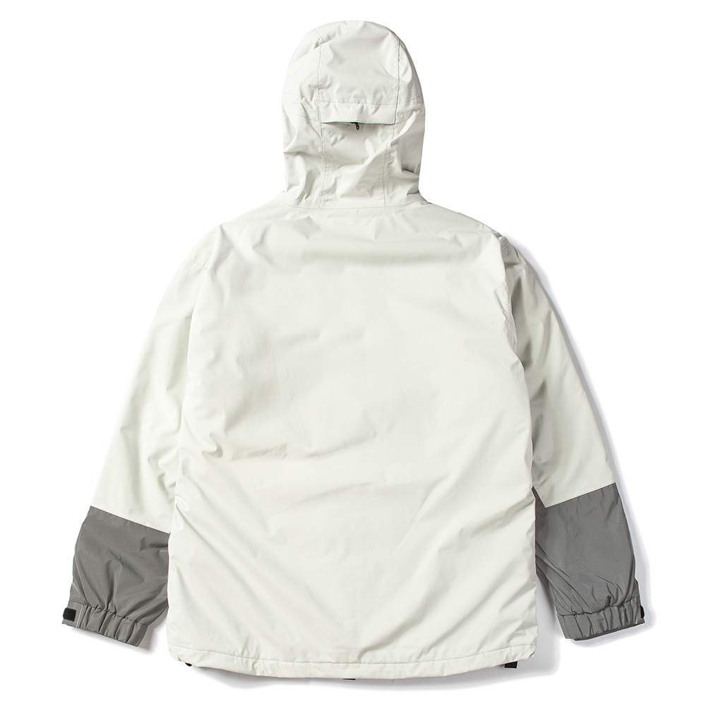 자체브랜드 MOUNTAIN POW JACKET LIGHT GRAY