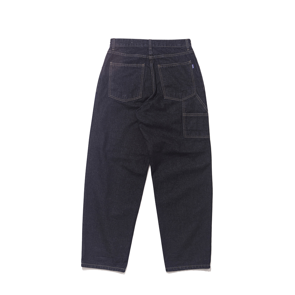 자체브랜드 CARPENTER RAW DENIM PANTS BLUE