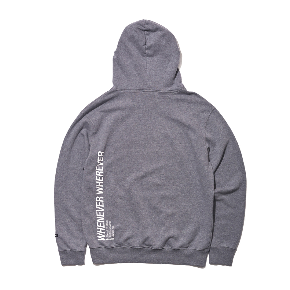 자체브랜드 WEWE WELCOME DRY HOODIE DARK GRAY