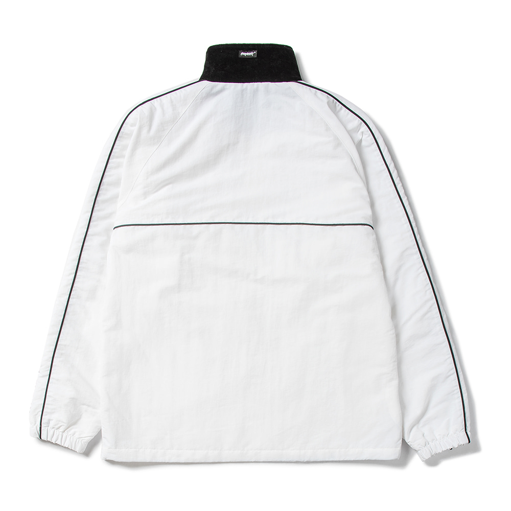 자체브랜드 BL TRACK JACKET WHITE