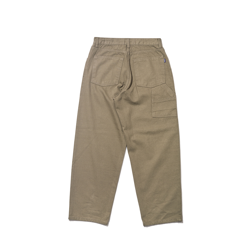 자체브랜드 CARPENTER PANTS KHAKI