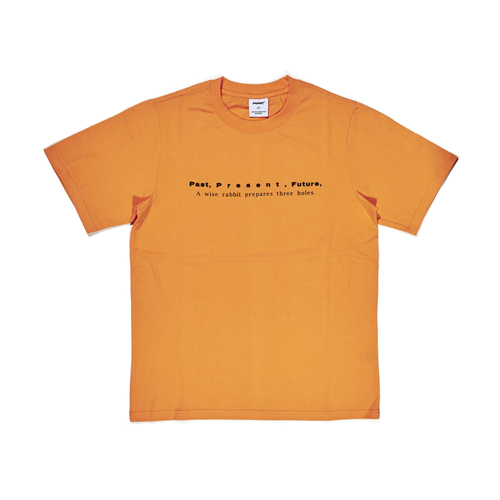 BSRABBIT PPF T-SHIRT LIGHT ORANGE