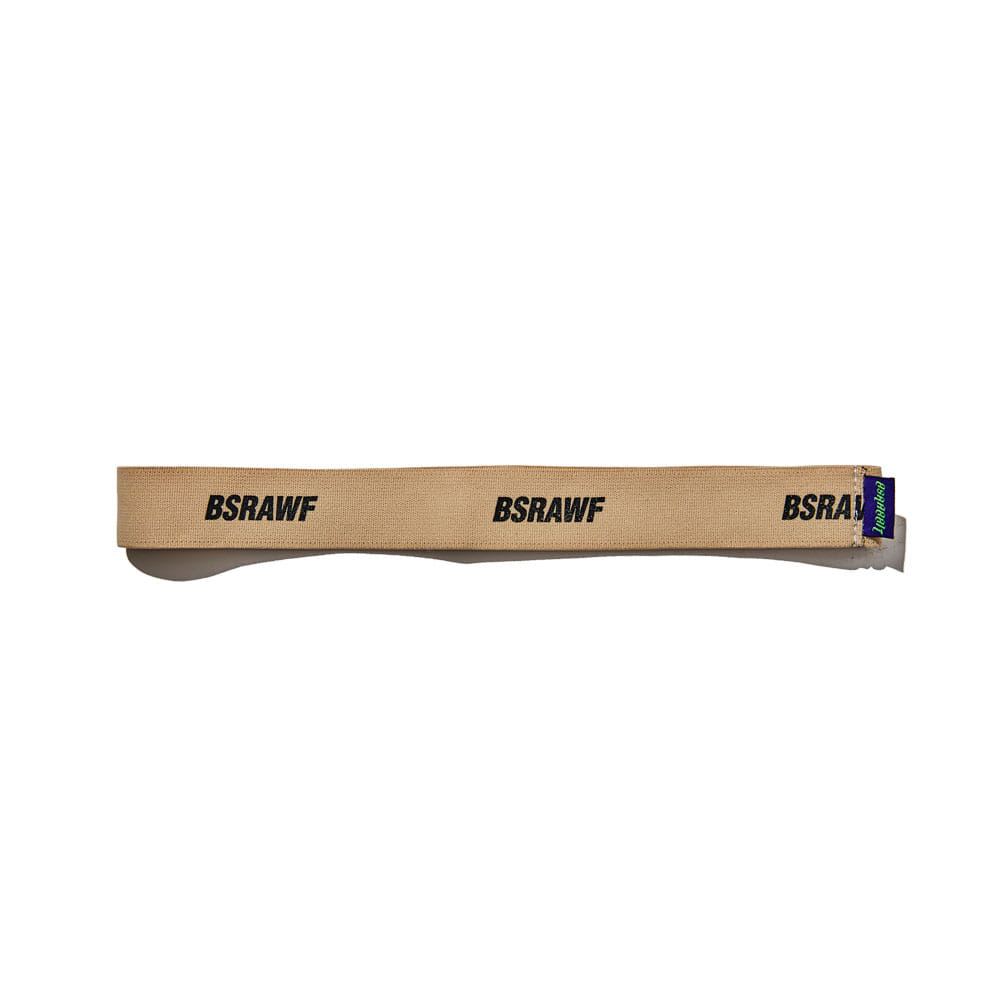 BSRABBIT WOOL HEAD BAND BEIGE