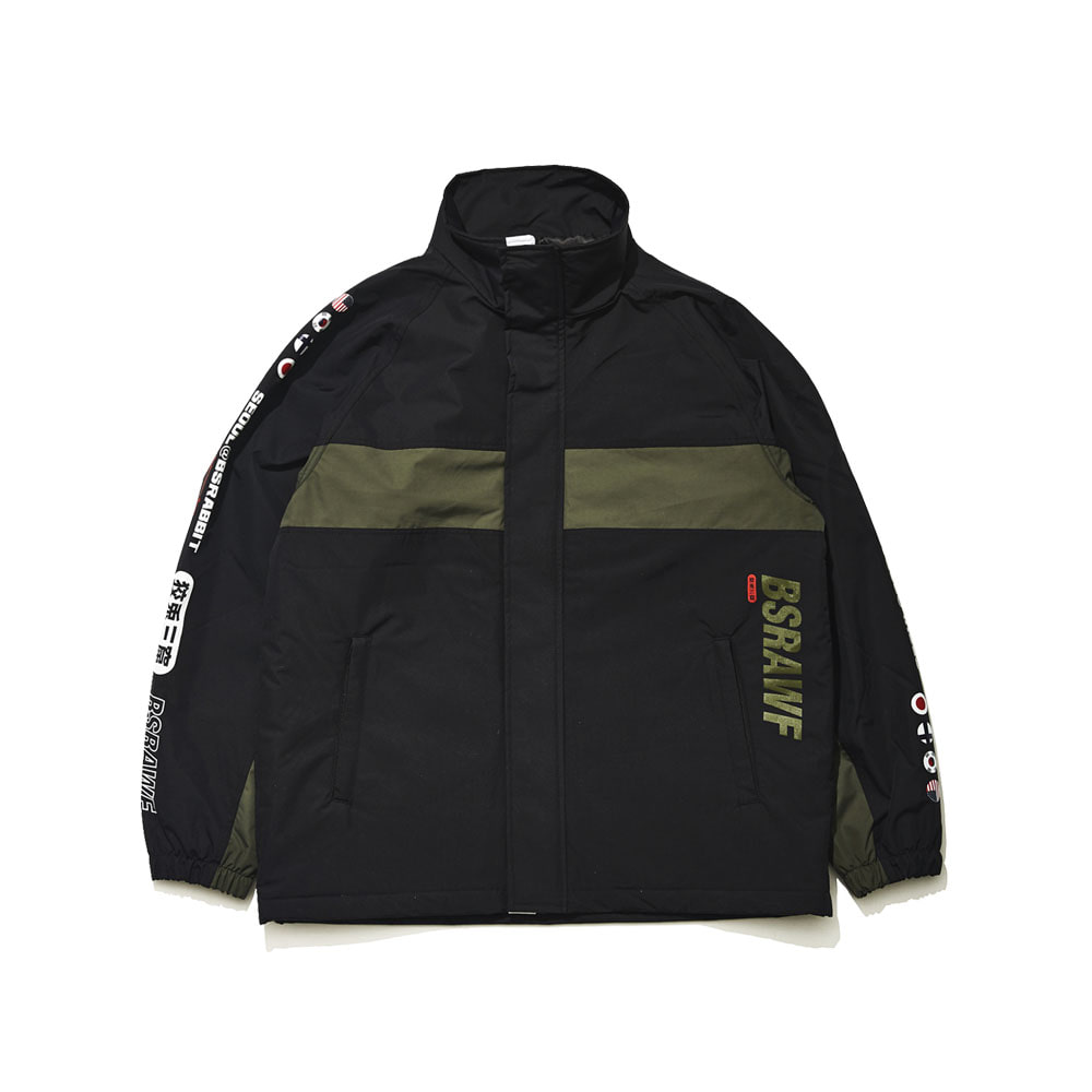 BSRABBIT COMPETITIVE JACKET BLACK