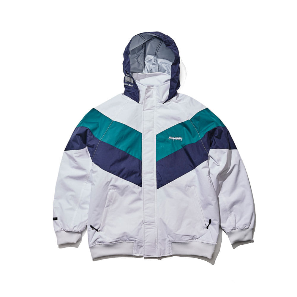 BSRABBIT BSR MIGHT JACKET WHITE