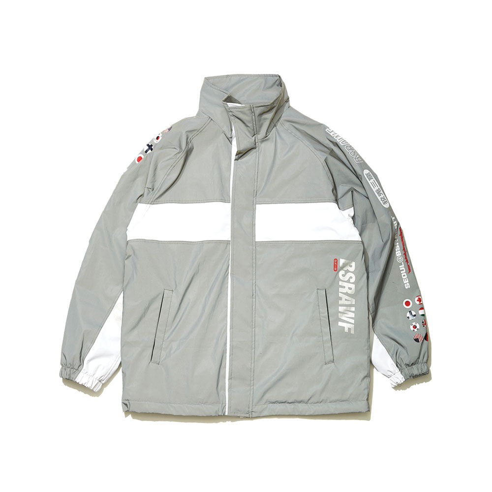 BSRABBIT COMPETITIVE JACKET REFLECTIVE SCOTCH