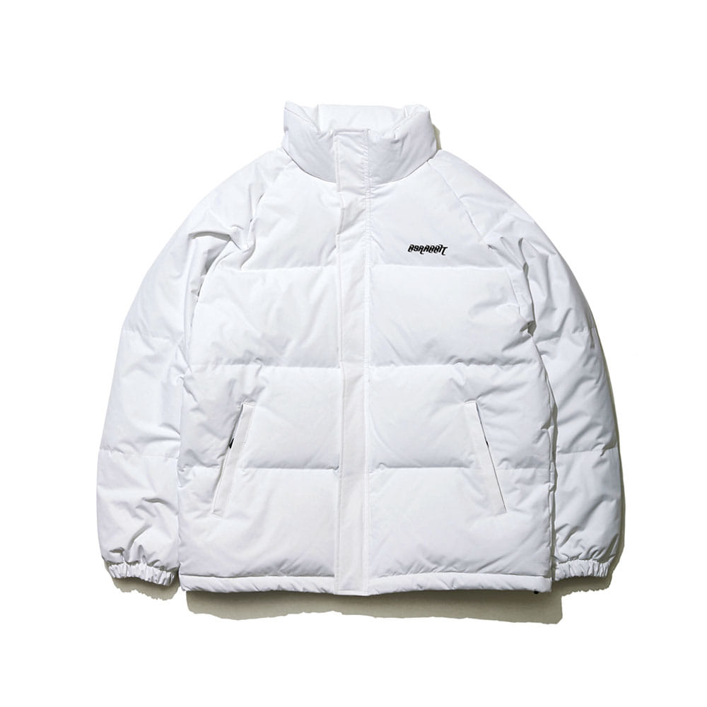 BSRABBIT BSR DUCK DOWN PARKA WHITE