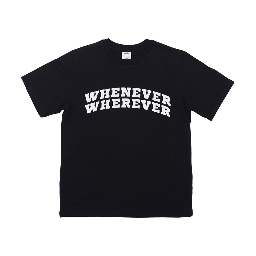 BSRABBIT WWSUMMER T-SHIRTS BLACK