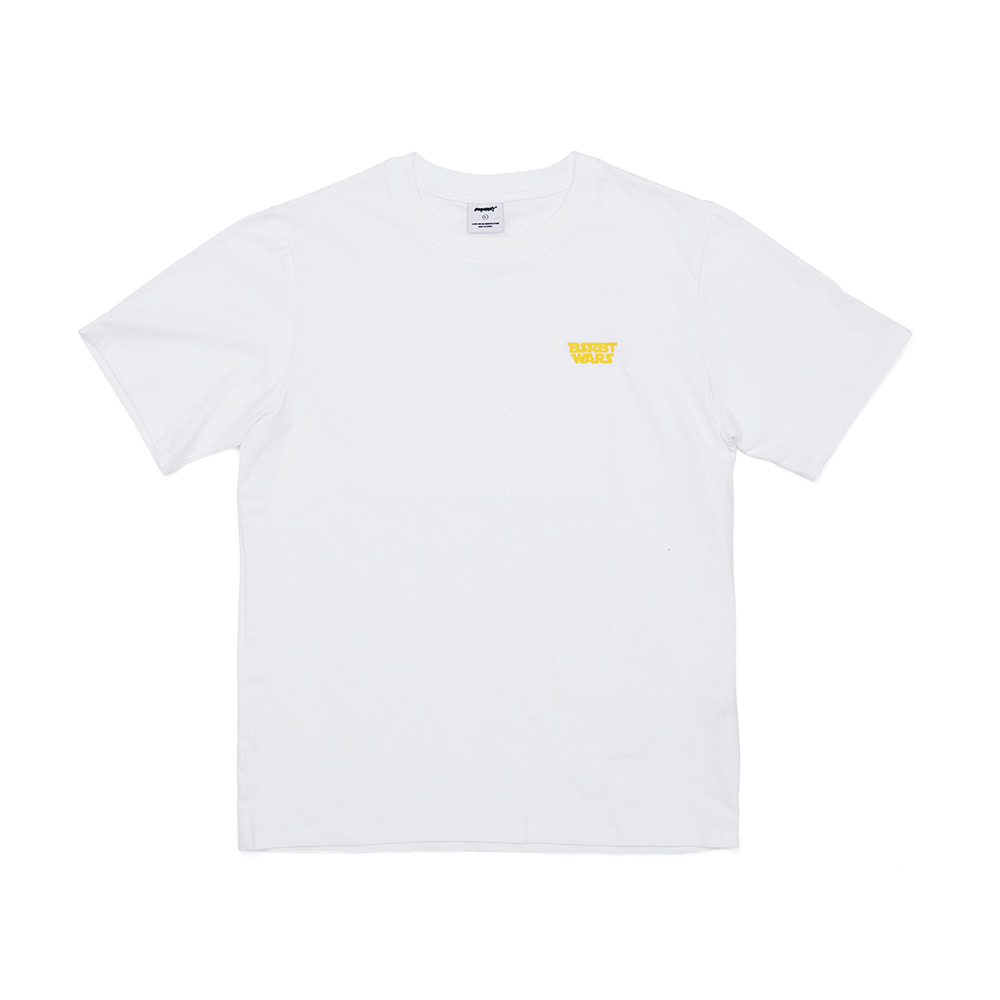 BSRABBIT RBWARS T-SHIRTS WHITE