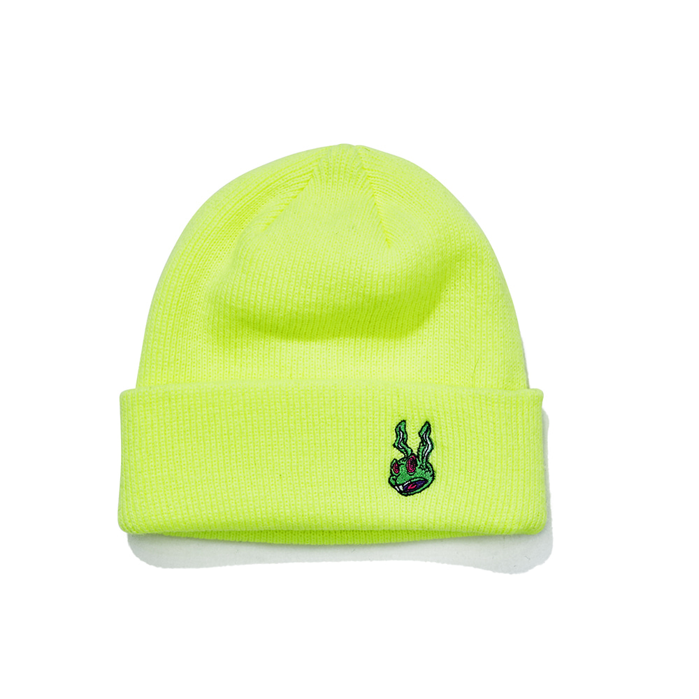 자체브랜드 TRIPPY RABBIT BEANIE FLUORESCENT
