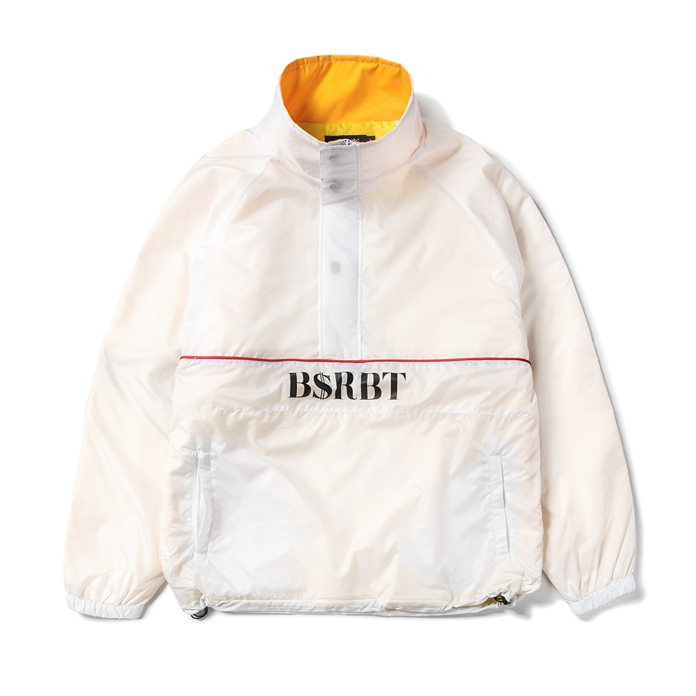 자체브랜드 BSRBT ANORAK JACKET WHITE