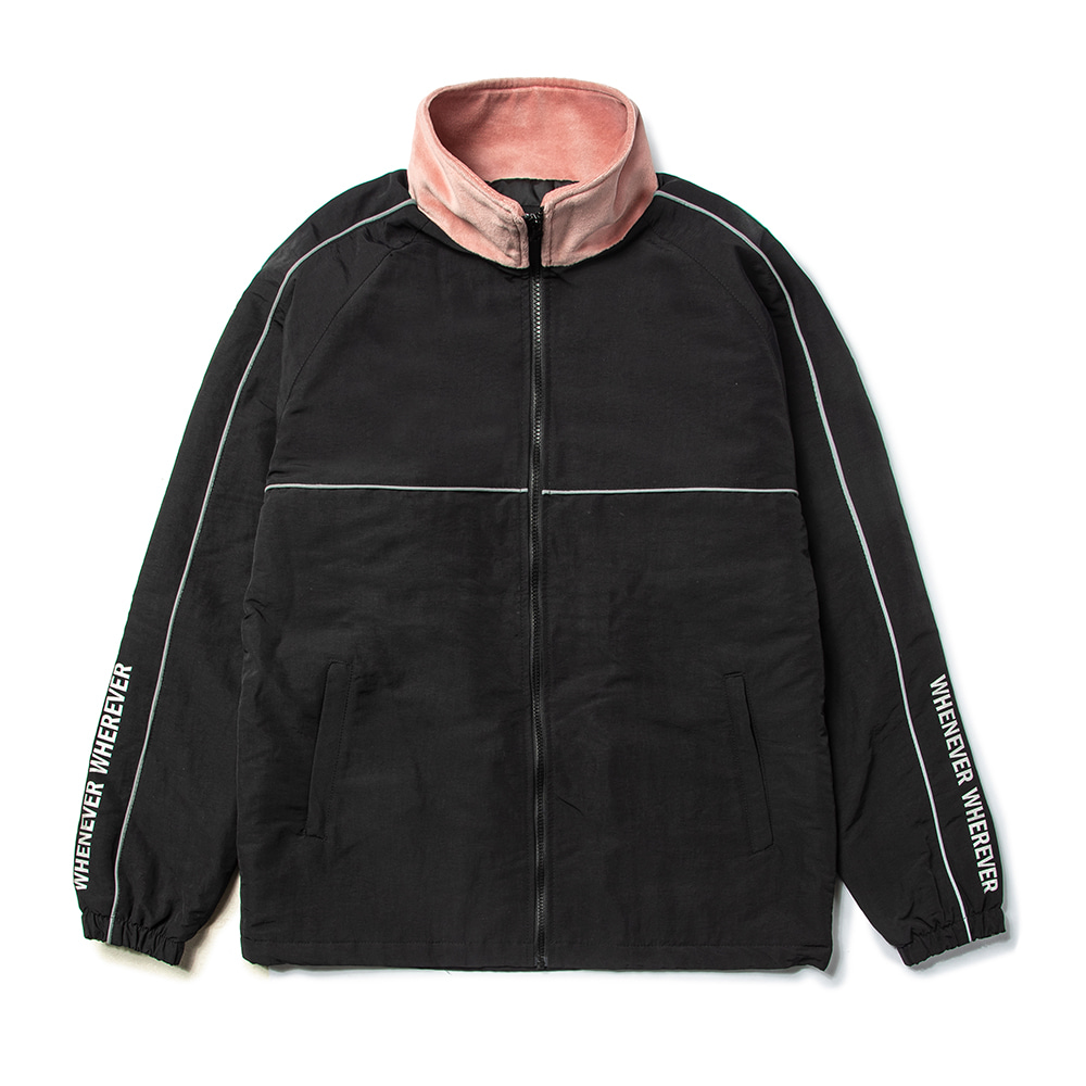 자체브랜드 BL TRACK JACKET BLACK