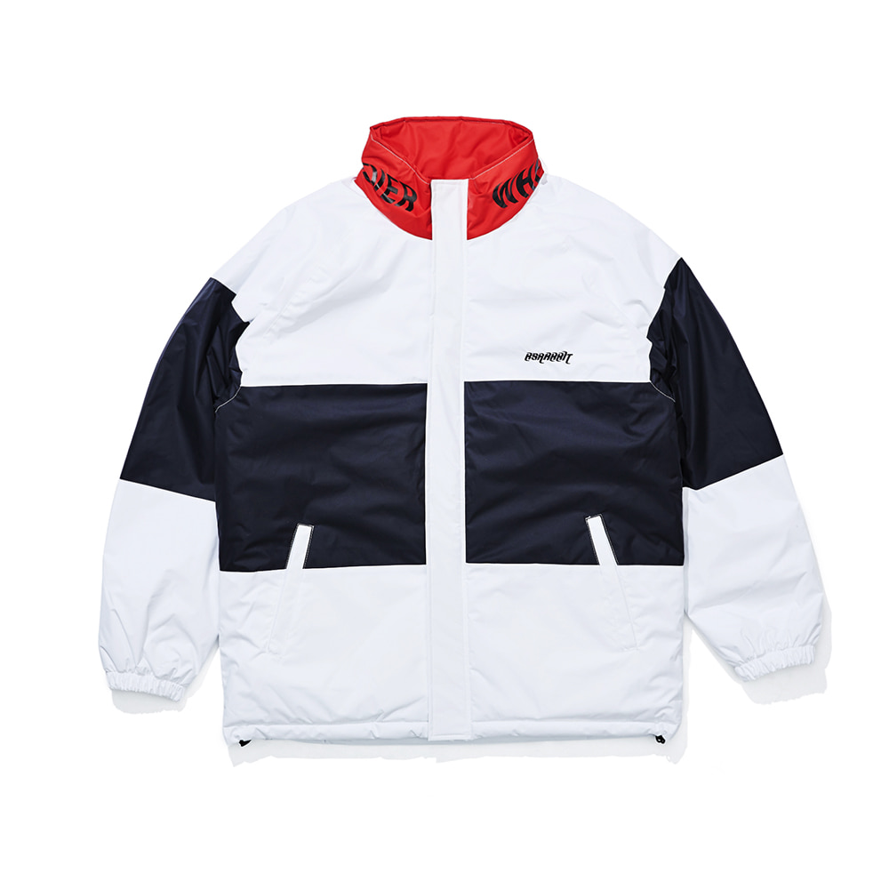 자체브랜드 WW PADDING JUMPER WHITE