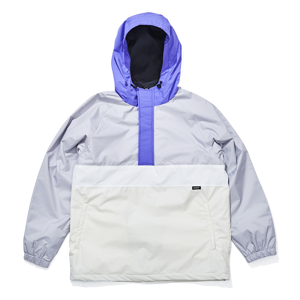 자체브랜드 OPTD ANORAK JACKET LIGHT GRAY
