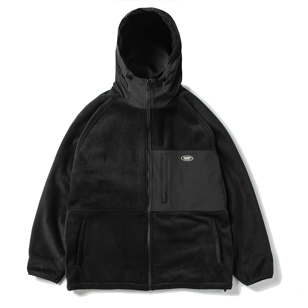 자체브랜드 ROYAL FLEECE JACKET BLACK